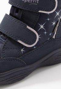 Superfit - CRYSTAL - Winter boots - blau/lila - 5