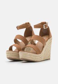 Rubi Shoes by Cotton On - BRADY WEDGE  - Platform sandals - tan - 2