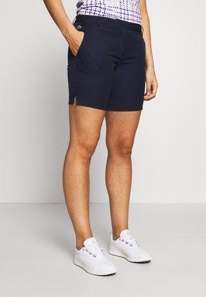 BERMUDA - Sports shorts - navy blue