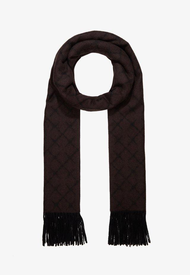 ORTEGA - Sjal / Tørklæder - dark chokolate
