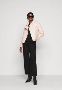 ONLY Petite - ONLASHA BIKER - Summer jacket - pumice stone - 1