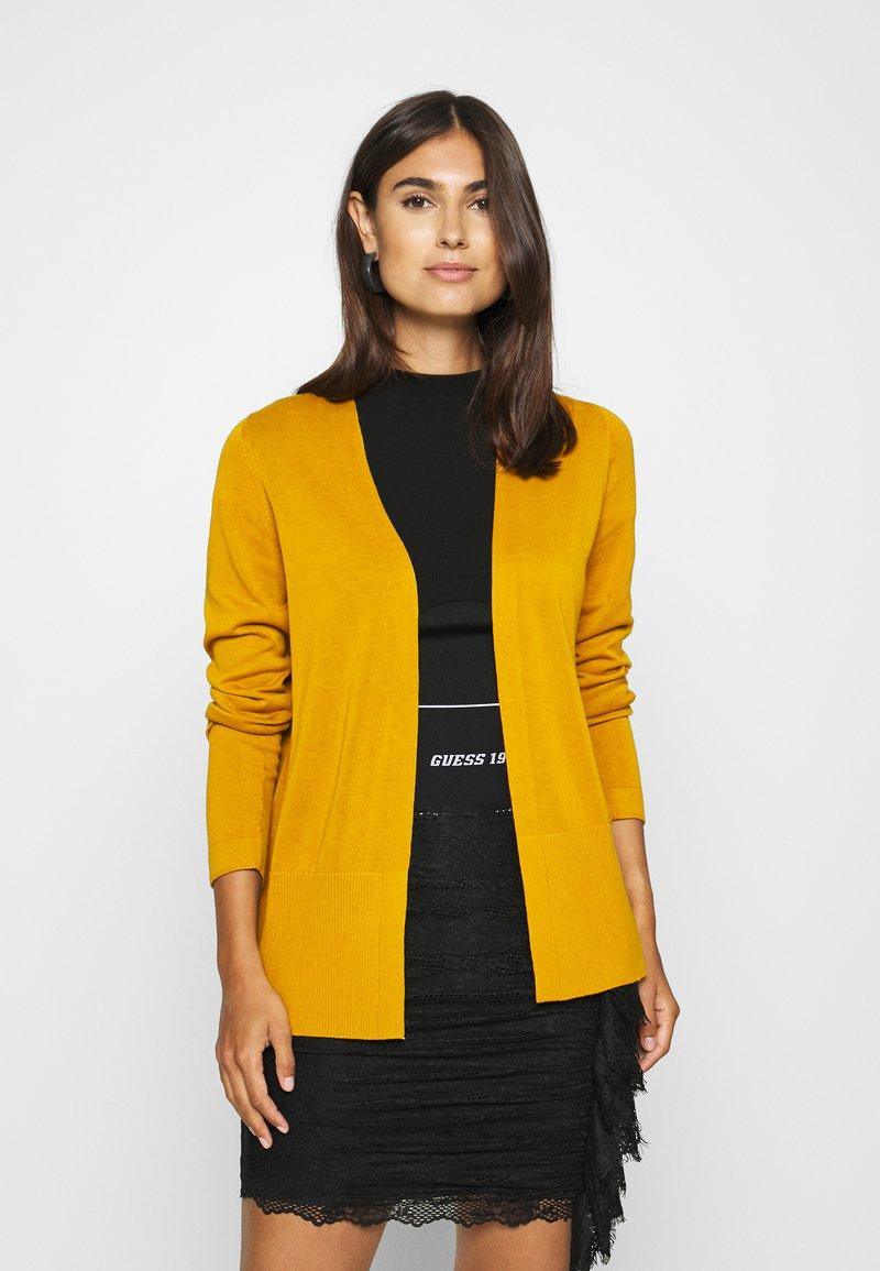 s.Oliver - LANGARM - Kardigan - yellow
