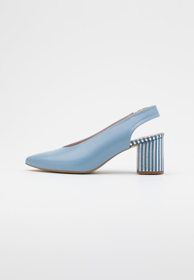 LET'S GO - Classic heels - blue