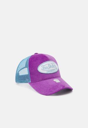 TRUCKER UNISEX - Cap - lilac/blue