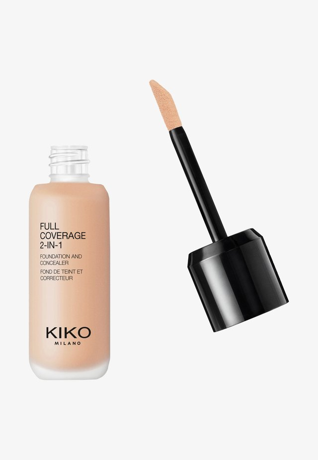 FULL COVERAGE 2 IN 1 FOUNDATION AND CONCEALER - Foundation - 10 warm rose