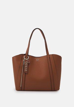 NAYA TOTE SET - Handbag - cognac