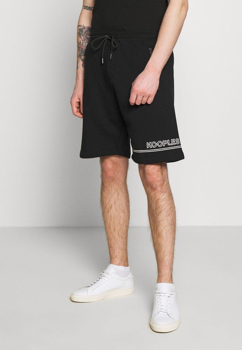 The Kooples - Teplákové kalhoty - black