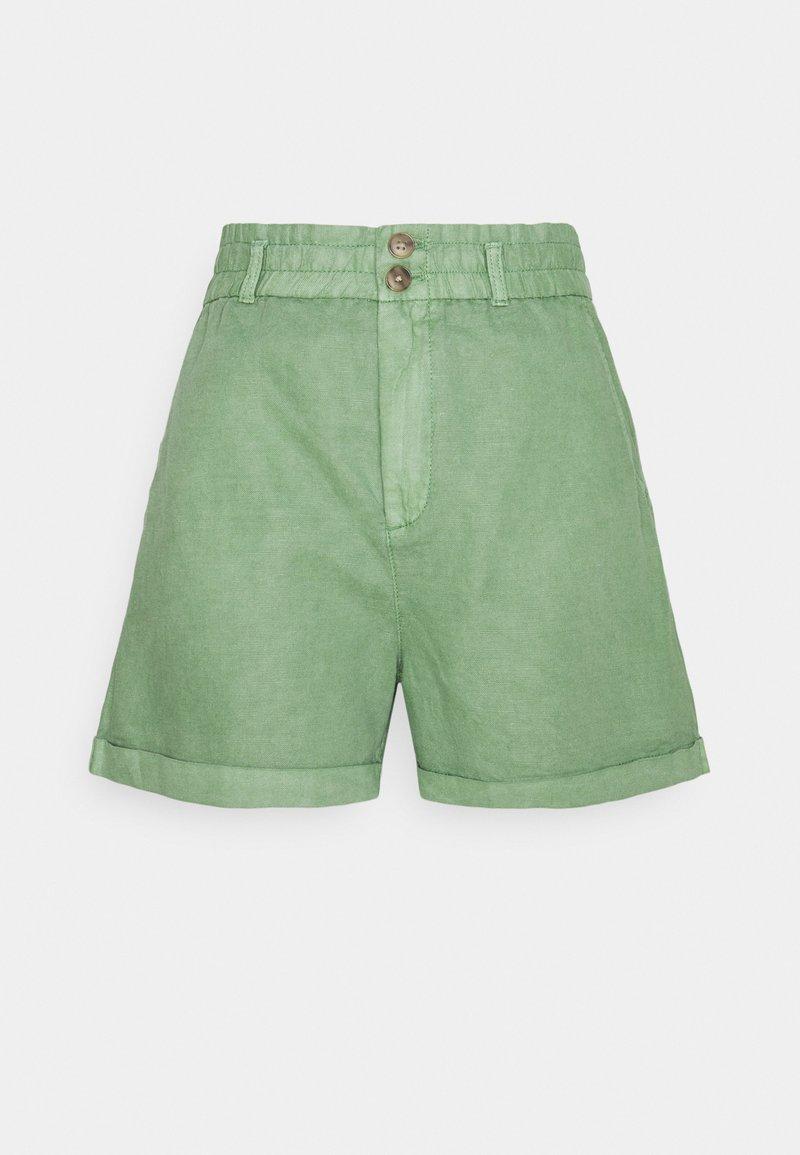 GAP - PAPERBAG - Shorts - green dollar