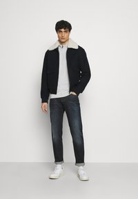 Marc O'Polo - TROYER WITH ZIP - Jumper -  grey - 1