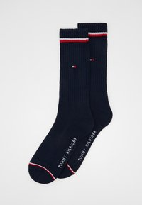 Tommy Hilfiger - MEN ICONIC SOCK 2 PACK - Socks - dark navy - 0