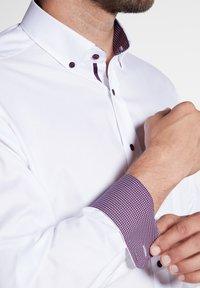Eterna - FITTED WAIST - Shirt - white - 2