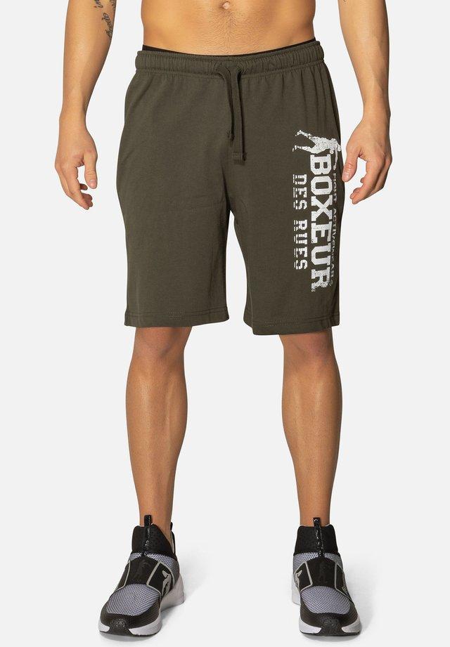 Pantaloncini sportivi - dark green
