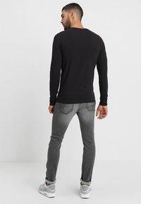 Only & Sons - ONSBASIC SLIM TEE - Long sleeved top - black - 2