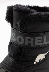 Sorel - CHILDRENS - Winter boots - black/charcoal - 2