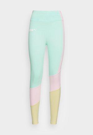 PUMA HIGH WAIST - Leggings - Trousers - beach glass