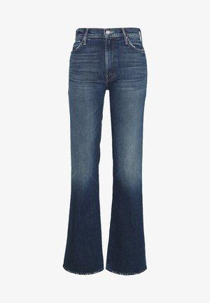 THE KICK IT - Bootcut jeans - blue denim