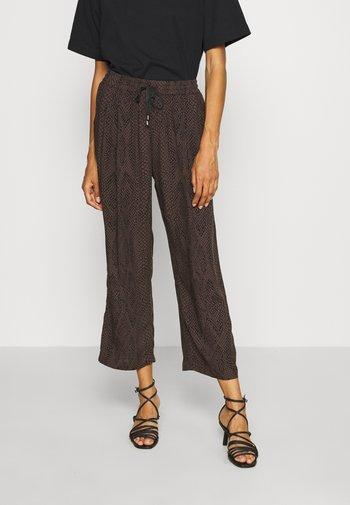 MAHOLA - Trousers - black
