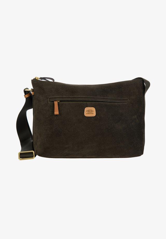 MARTA - Across body bag - olivgruen