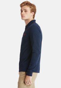 Timberland - LS MILLERS RIVER  - Polo shirt - dark sapphire - 3