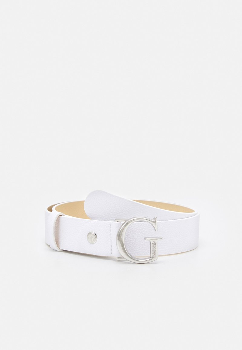 Guess - CORILY ADJUSTABLE PANT BELT - Belt - white