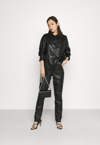 NA-KD - Button-down blouse - black - 1