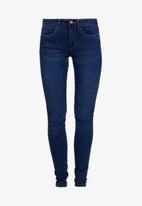 ONLY - ONLROYAL - Vaqueros pitillo - dark blue denim - 4
