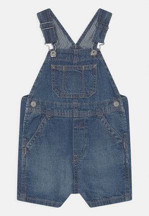 SHORTALL UNISEX - Lacláče - blue denim