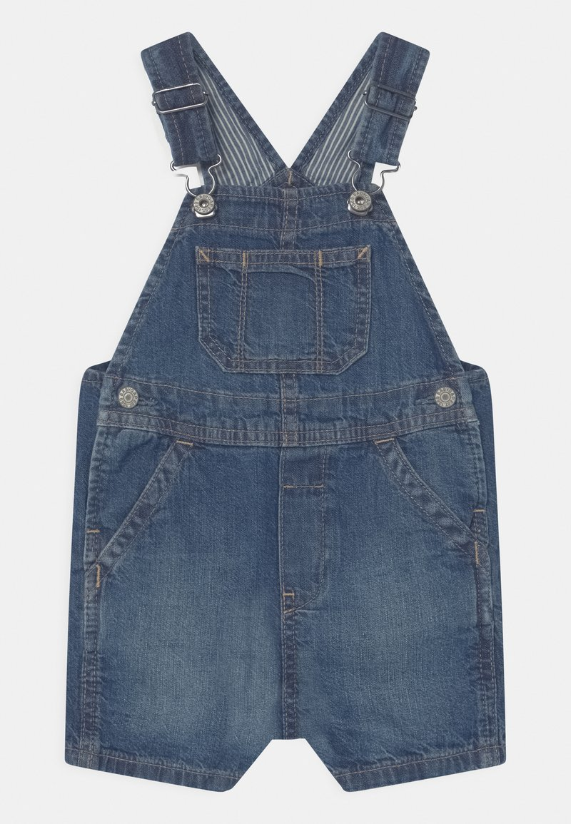 GAP - SHORTALL UNISEX - Salopette - blue denim