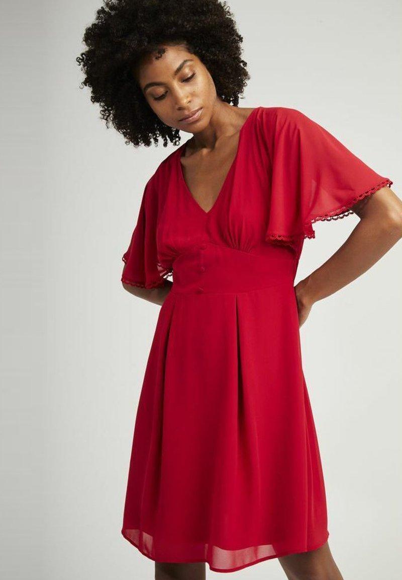 NAF NAF - CROCUS - Day dress - red
