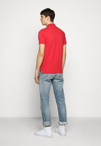 Polo Ralph Lauren - SLIM FIT MESH POLO SHIRT - Polo - evening post red - 2