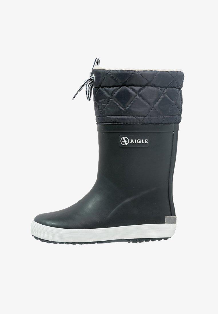 Aigle - GIBOULEE - Stivali di gomma - marine/blanc