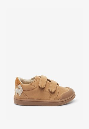 MACHINE WASHABLE  - Baby shoes - mottled light brown