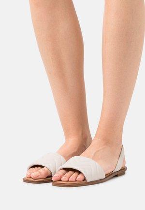 GRIRAWIAFLEX - Sandals - white
