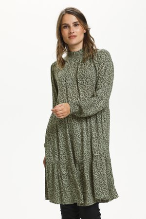KALORA - Day dress - hedge green petit fleur
