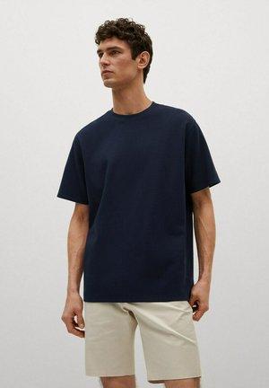 RELAXED FIT - Basic T-shirt - bleu marine foncé
