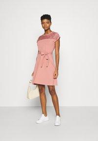 ONLY - ONLBILLA DRESS - Jersey dress - old rose - 1