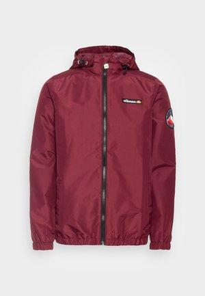 TERRAZZO JACKET - Summer jacket - burgundy
