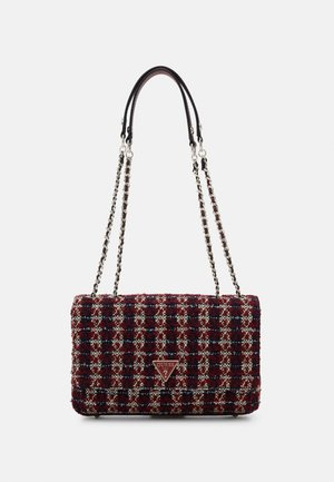 CESSILY CONVERTIBLE XBODY FLAP - Across body bag - merlot