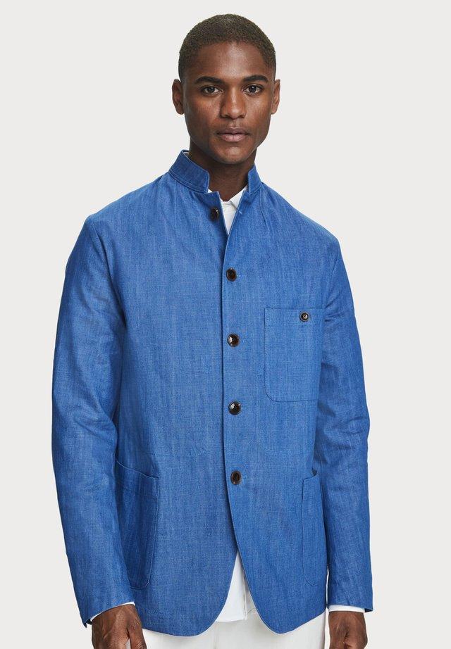 Summer jacket - aqua blue