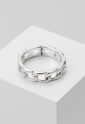 CHAINED BAND - Anello - silver-coloured