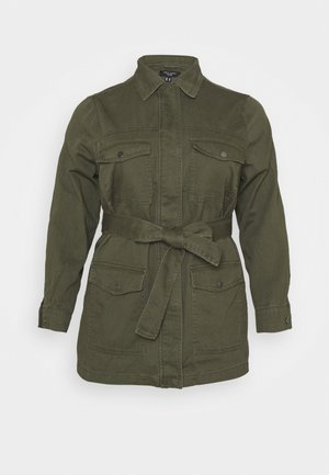 LOTUS BELTED SHACKET - Lett jakke - khaki