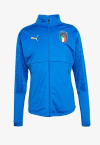 Puma - ITALIEN FIGC STADIUM HOME JACKET - Fanartikel - team power blue/team gold - 3