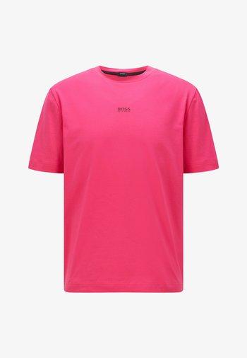 TCHUP - T-shirt med print - pink