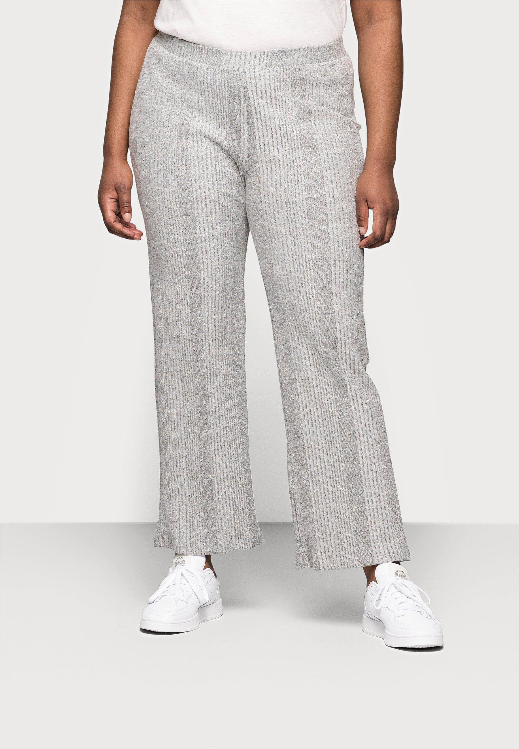 Femme PCMANVI WIDE PANT - Pantalon de survêtement