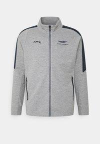 Hackett Aston Martin Racing - TRACK - Mikina na zip - grey marl - 5
