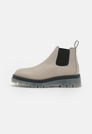 CPH1001  - Platform ankle boots - stone
