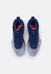 Jordan - ZION 1 - Chaussures de basket - blue void/bright crimson/fierce purple/indigo haze - 3