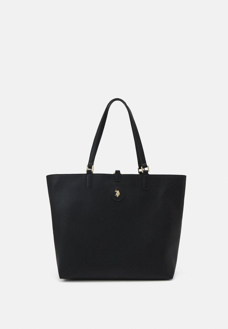 U.S. Polo Assn. - MALIBU POUCH PRINTED - Tote bag - black
