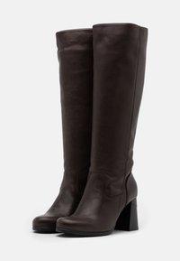 lilimill - Vysoká obuv - twister brown - 2