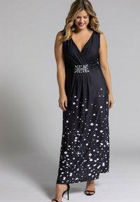 Ulla Popken - Maxi dress - schwarz - 0